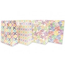 Large Gift Bags ~ Bright Prints