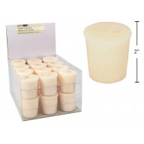 Christmas Scented Votive Candles - 24/display ~ Vanilla Cupcake