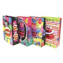 Jumbo Gift Bag ~ Birthday Cakes No Writing