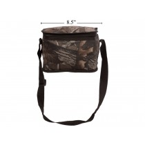 Insulated Camo Cooler Bag ~ 6 Tin