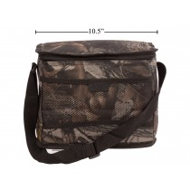 Insulated Camo Cooler Bag ~ 12 Tin