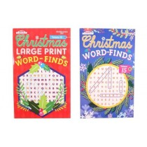 Christmas Word Find Puzzles ~ 96 pages
