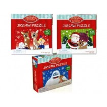 Christmas Kids Rudolph Puzzles ~ 100 pieces
