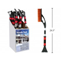 "Extendable Snow Brush with Ice Scraper ~  29.5"" to 37"""