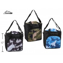 Insulated Camo Picnic Cooler Bag ~ 18L