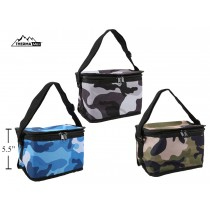 Insulated Picnic Camo Cooler Bag ~ 6 Can