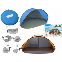 Pop-Up Shade Beach Tent in Carrying Case ~ 84.5""