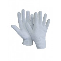 Bleached White Knit Glove ~ sold by the dozens only