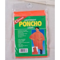 Coghlan's Lightweight Poncho ~ Orange