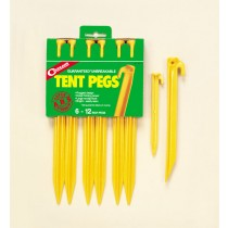 "Coghlan's ABS Tent Pegs 12"" ~ 6 per pack"