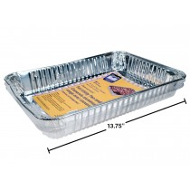 Foil Utility Pan w/Dome Lid ~ 1 per pack