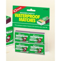 Coghlan's Waterproof Matches ~ approx 160 matches