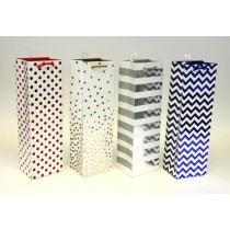 Bottle Gift Bags ~ Dots & Stripes