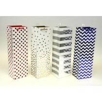 Bottle Gift Bags ~ Dots & Stripes