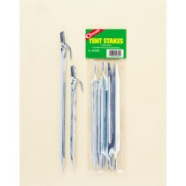 "Coghlan's Steel Plated Tent Stakes 9"" ~ 4 per pack"