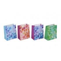 Medium Gift Bags ~ Glitter Geometric