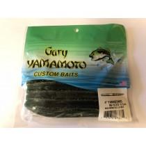 """Gary Yamamoto 4"""" YamaSenko ~ Watermelon w/Small Gold & Large Black Flake"""