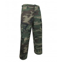 Unlined Camouflage Pants ~ Green Camo ~ Size 42 ONLY