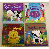 Kid's Assorted Touch & Feel Board Books