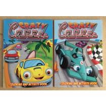 Crazy Carzz Coloring Book