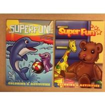 Super Fun! Coloring Book
