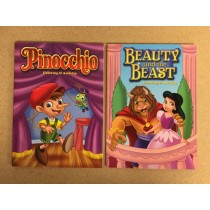 Beauty & The Beast & Pinocchio Coloring Book