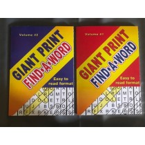 Giant Find-A-Word Puzzle Books