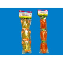 Fillable Easter Eggs - Carrot or Chick ~ 3 per pack