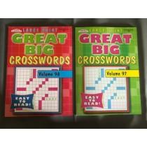 Large Print Crossword Puzzle Books