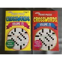 Crossword Puzzle Books ~ Digest Size