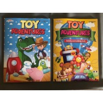 Toy Adventures Coloring Book
