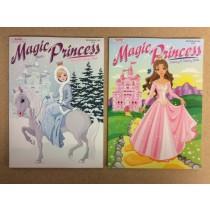 Magic Princess Coloring Book
