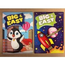 Big & Easy Coloring Book
