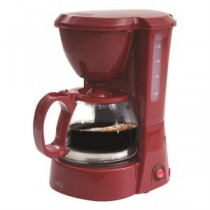 Coffee Maker - 5 Cups ~ Red