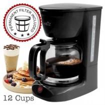 Coffee Maker - 12 Cups ~ Black
