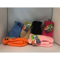 Kid's Polar Fleece Mittens ~ Size 3 - 6X