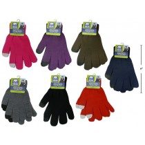 Adult 2-Finger Touch Screen Texting Magic Gloves