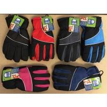 Kid's Insulated Ski Gloves ~ Sizes 3-6X