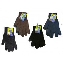 Men's Insulated 2-Finger Touch Screen Texting Gloves