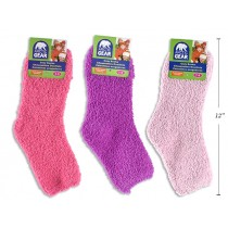 Youth Solid Color Cozy Socks