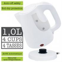 Cordless Jug Kettle - WHITE ~ 1L /4 Cups