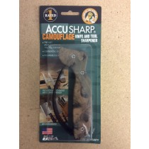 AccuSharp Knife & Tool Sharpener ~ Camouflage