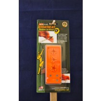 Accu Sharp Broadhead Sharpener & Wrench ~ Fluorescent Orange