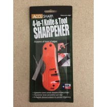 Accu Sharp 4-in1 Knife & Tool Sharpener