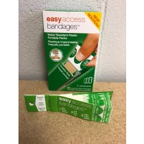 Easy Access Bandage Strip - Plastic ~ 45 assorted