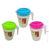 Plastic Pitcher with Neon Cover ~ 2L
