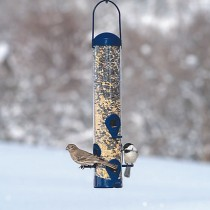Perky-Pet Navy 2-in-1 Bird Seed Feeder
