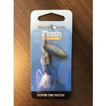 Blue Fox Flash Spinner - 3/16oz ~ Shiner