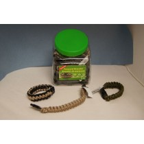 Coghlan's Paracord Bracelet ~ Bowl of 24