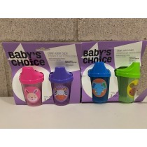 Baby's Choice Sipper Cups ~ 2 per pack